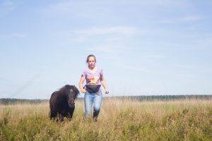in vrijheid met je paard samenwerken