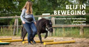 Evenement over clickertraining voor paarden