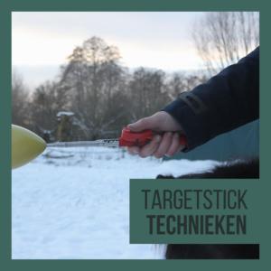 Targetstick gebruiken bij clickertraining
